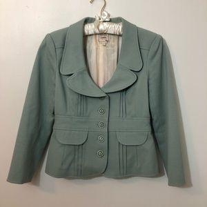 [Nanette Lepore] Peplum Round Collar Blazer 4
